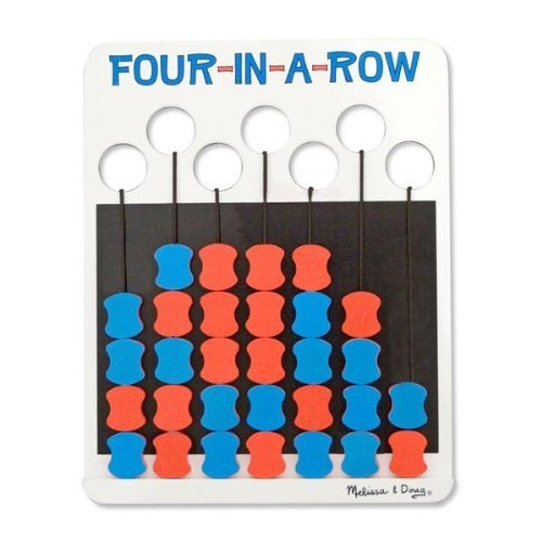 Four-In-A-Row Travel Game by Melissa and Doug