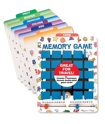 Flip to Win Travel Game by Melissa and Doug