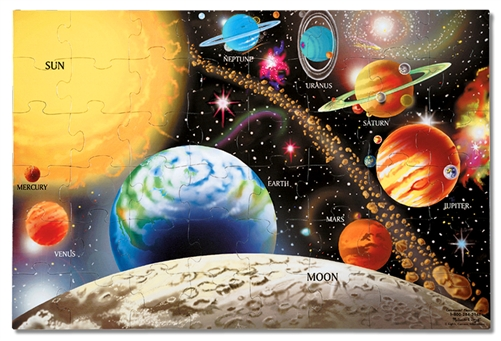 Solar System Floor Puzzle by Melissa Doug