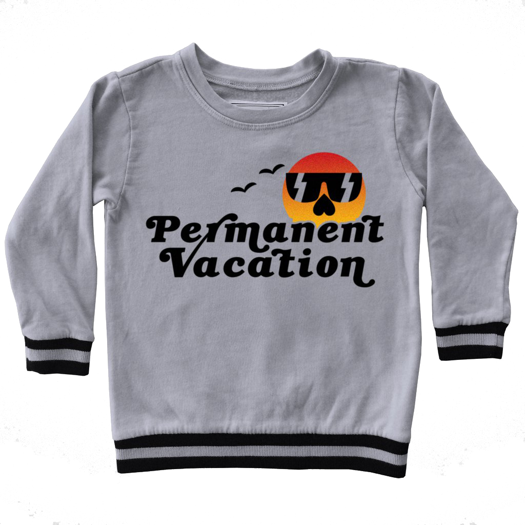 Boys' Permanent Vacation Sweatshirt by Tiny Whales (Size: 4)
