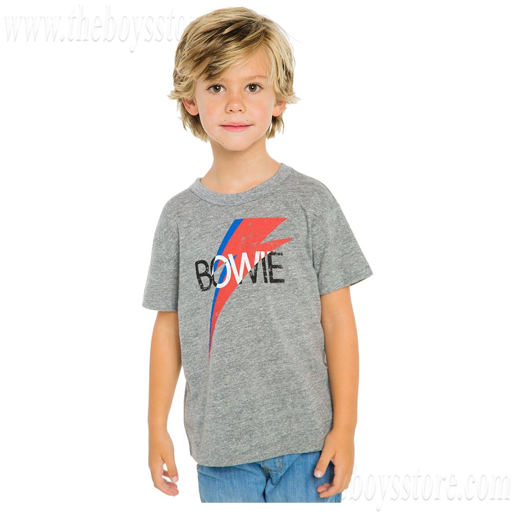 Boys Bowie Bolt Shirt by Chaser (Size: 7)