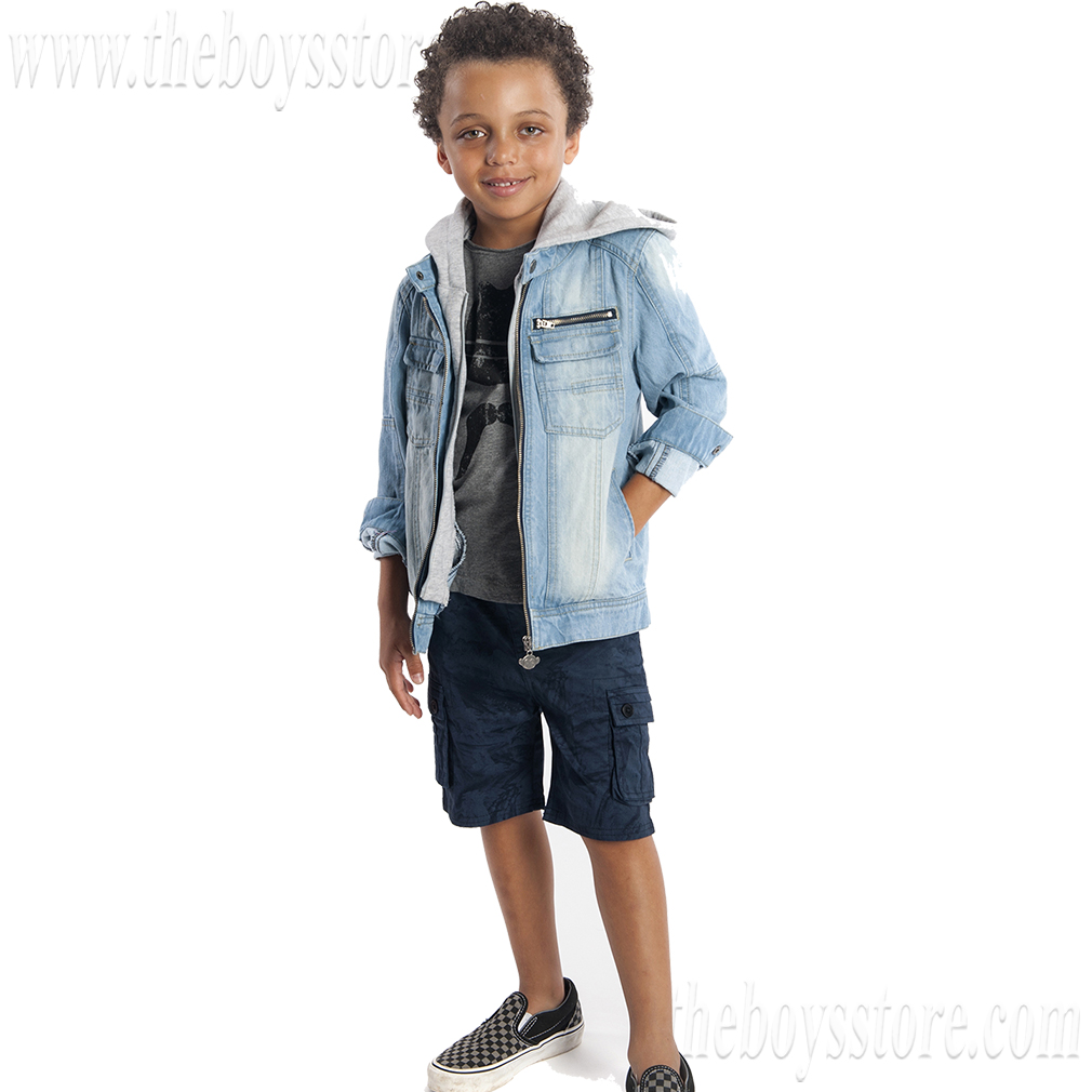 Boys' Dilinger Denim Jacket by Appaman (Size: 7)