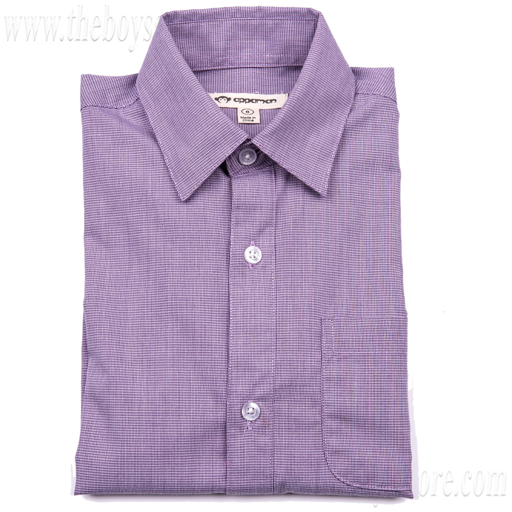 Boys' Standard Shirt by Appaman * (Color: Amethyst, Size: 6)