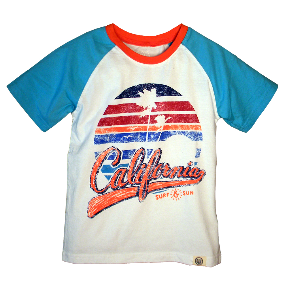 Boys California Surf and Sun Shirt by Wes and Willy (Size: 4)