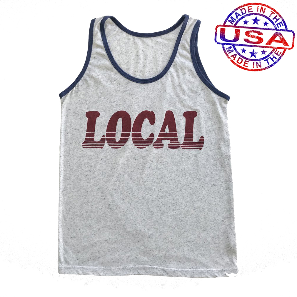 Boys Local Tank Top by Tiny Whales (Size: 5)