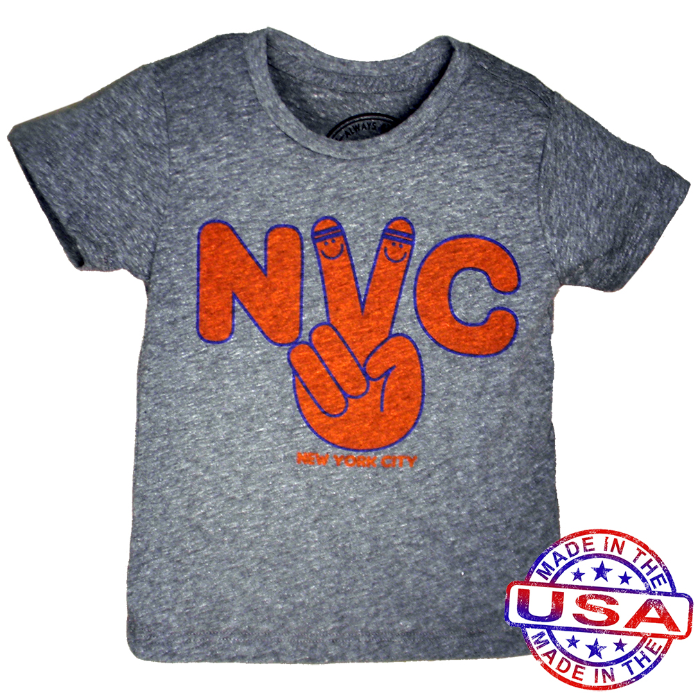 Boys NYC tee by Tiny Whales (Size: 3Y)
