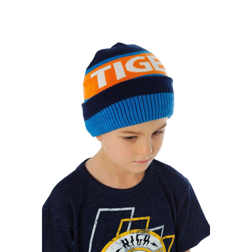 Boy's Easy Tiger Beanie by Chaser (Size: Large (2-6 Years))