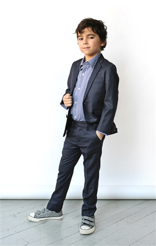 Boys' Mod Suit by Appaman * (Color: Navy, Size: 4T)