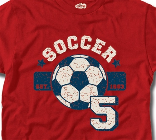 Soccer Shirt by Cadet Seven (Size: X-Large)