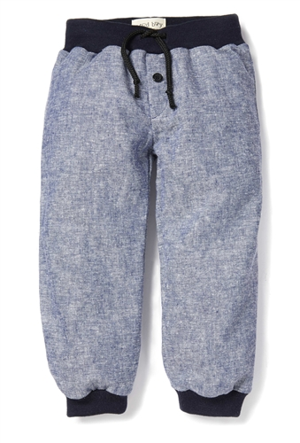 Chambray Sweatpants by Good Boy Friday (Size: 2/3)