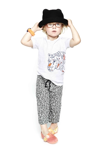 Boy's Tiger Graphic Tee by Good Boy Friday (Size: 2/3)