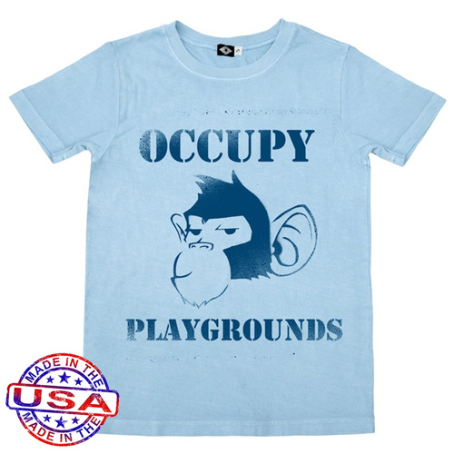 Boys Occupy Playgrounds Shirt by Hank Player (Size: 6)