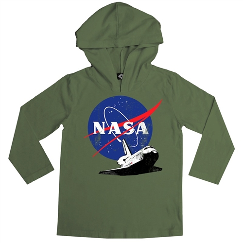 NASA Space Shuttle Endeavour Shirt by Hank Player (Size: 2T)