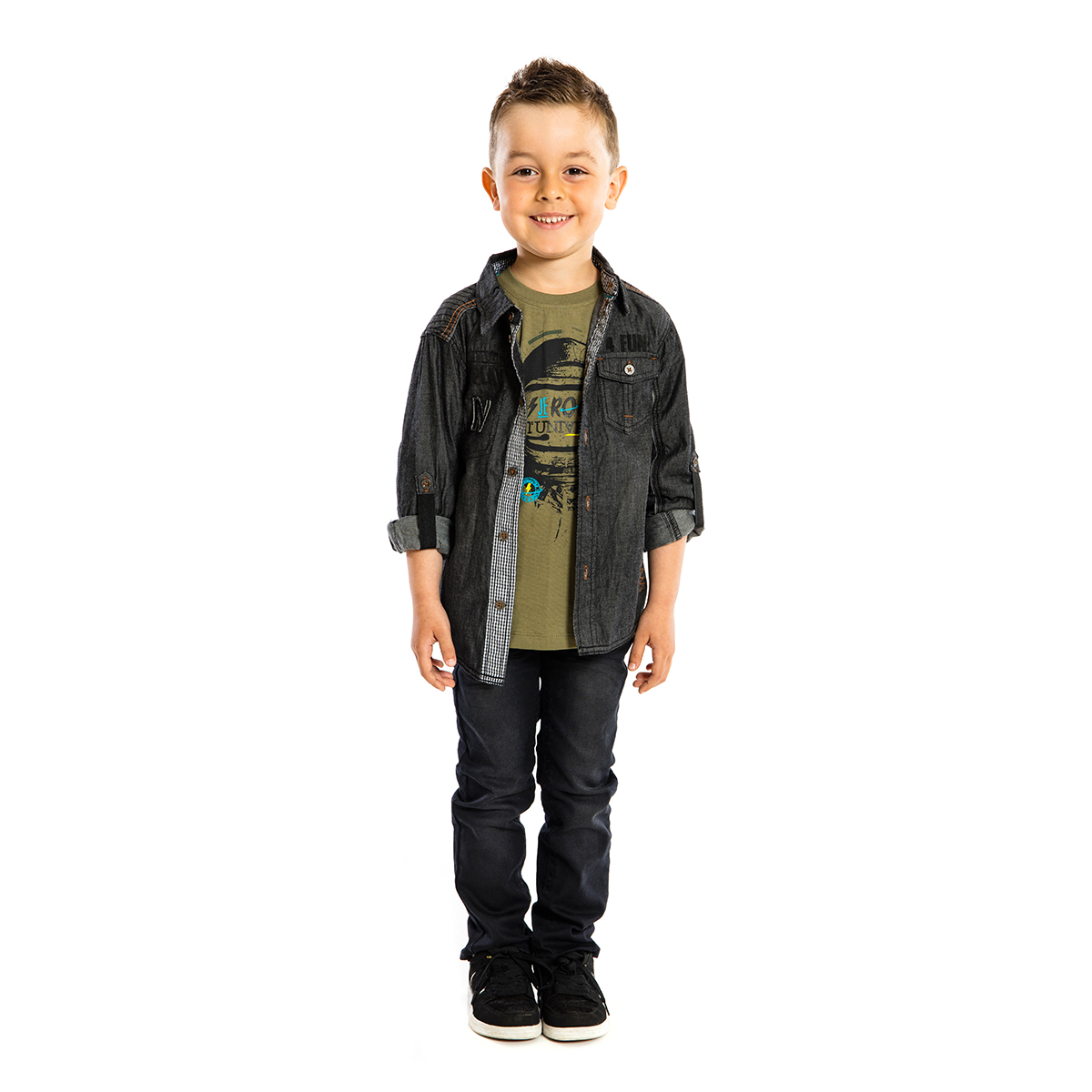 Boys Dress Shirt by Noruk (Size: 6)
