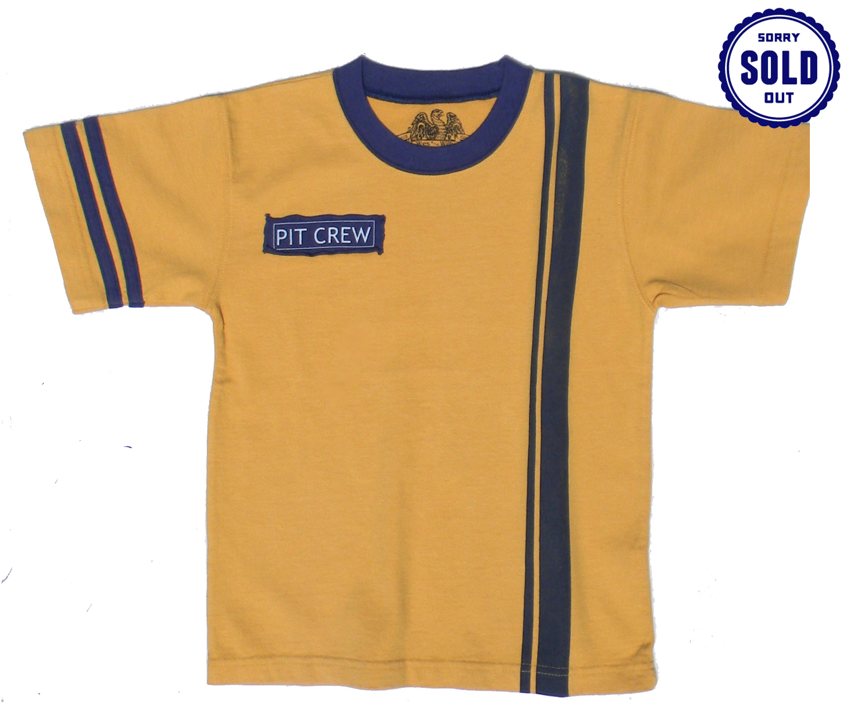 Boy's Pit Crew Shirt by Wes and Willy (Size: XL(18))