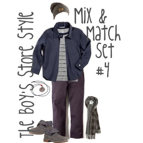 Boy's Mix and Match Set #4