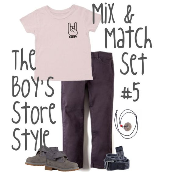 Boys Mix and Match Set
