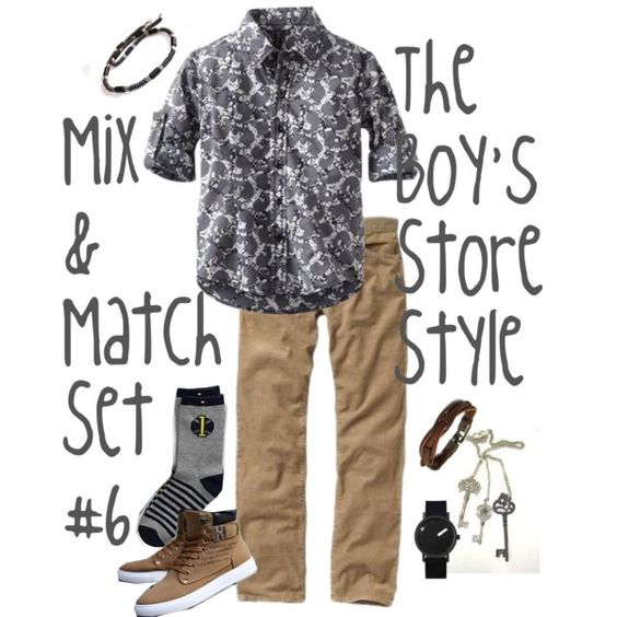 Boys Mix and Match Set #6