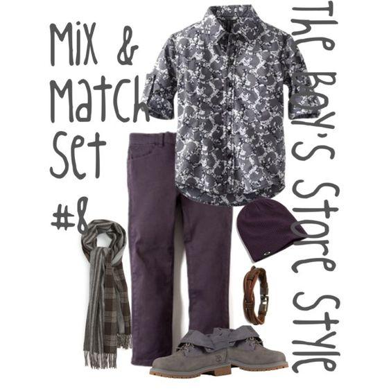Boys Mix and Match Set #8
