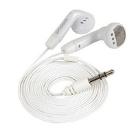 White Ear Buds