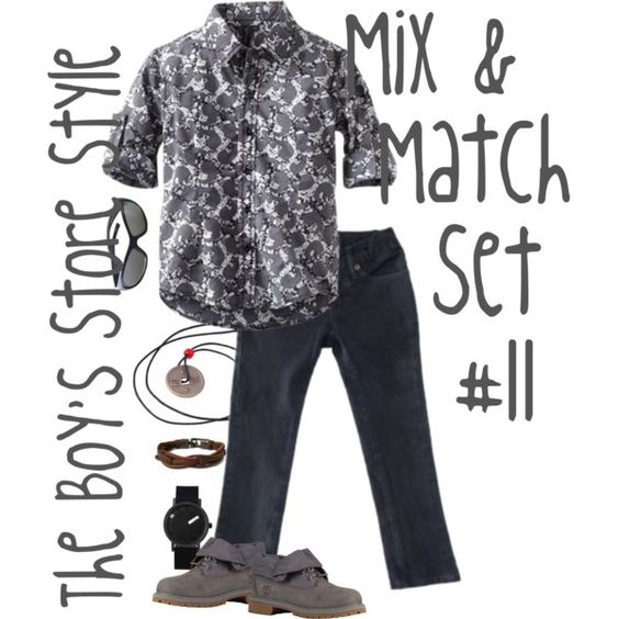 Boys Mix and Match Set #11