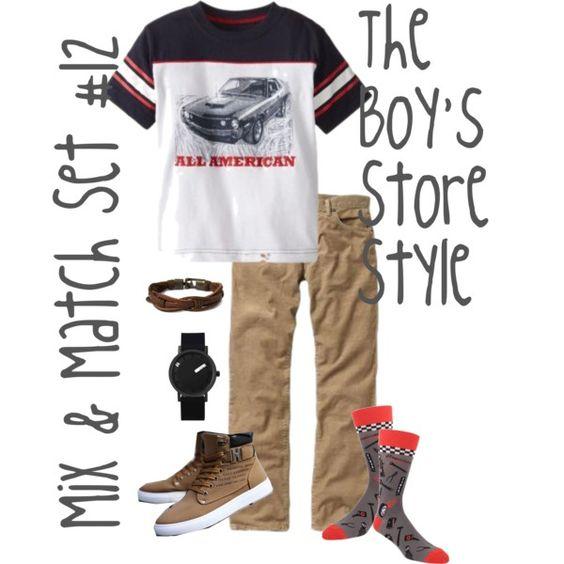 Boy's Mix and Match Set #12