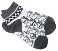 Skulls Ankle Socks for Boys