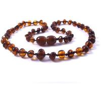 Baby Boy's Baltic Amber Teething Necklace