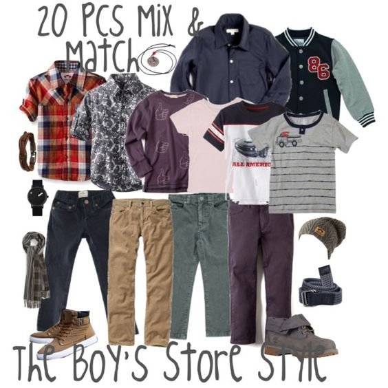 Boys Mix and Match Pieces