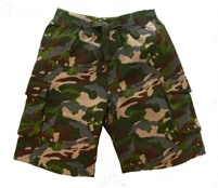 Camouflage Shorts for Boys