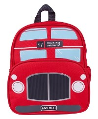 Boys Red Bus Backpack