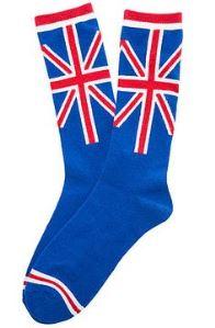 Union Jack Crew Socks for Boys