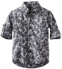 Boys Patterned Dress Shirt by Smash