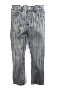 Boys Railroad Denim Pants