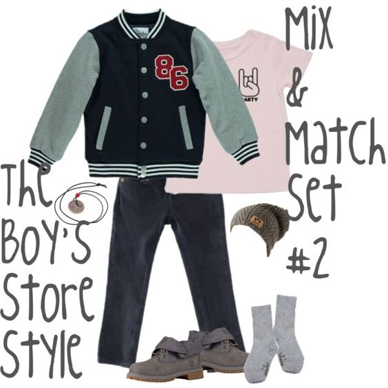 Boy's Mix and Match Set #2
