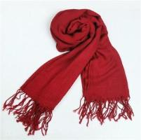 Boys Scarf in Bright Red