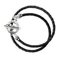 Boys Wrap Bracelet with Indian Charm