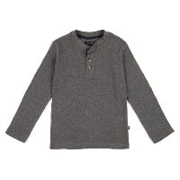 Waffle Weave Shirt for Boys