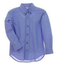 Blue Dress Shirt for Boys by Kitestrings