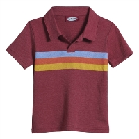 Striped Polo Shirt for Boys by City Threads