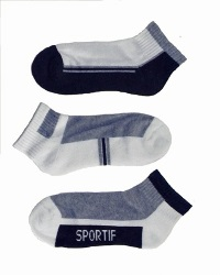 Boys Sports No-Show Socks
