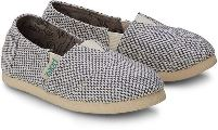 Gray Espadrille Shoes for Boys