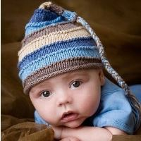 Knitted Hat for Baby Boys