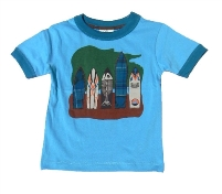 Surfboard T-Shirt for Boys