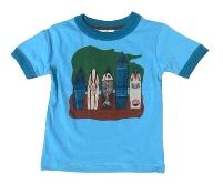 Surfboard T-Shirt for Boys