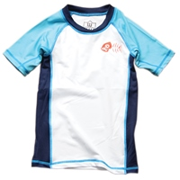 Boys Rash Guard by Wes and Willy
