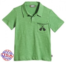 Electric Guitars Polo Shirt for Boys