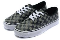 Boys Checkered Sneakers