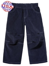Midnight Blue Corduroy Pants for Boys