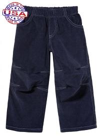 Midnight Blue Corduroy Pants for Boys
